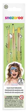 Snazaroo penselsett til ansiktsmaling, 3 stk