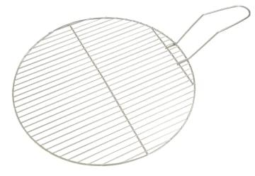 Grillrist i rustfritt stål til bålpanne . Diam: 57 cm.