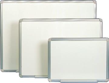 Whiteboard lakkert 90 x 120 cm m/alu.ramme