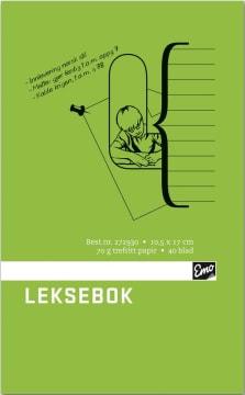 Leksebok EMO 10,5X17cm 40 blad (10 pk)