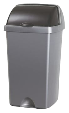 Avfallsdunk med rullelokk, 3 stk (H52xB31,5xD31,5 cm)