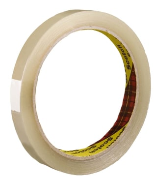 Disktape SCOTCH® 12mmx66m klar (12 pk)