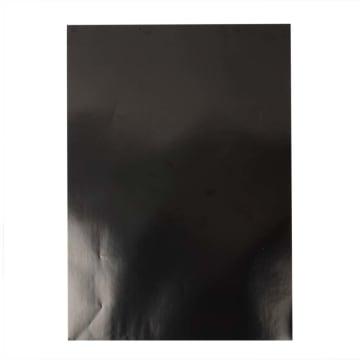 Glanspapir, ark 32x48cm, 80 g, 25 ark, sort