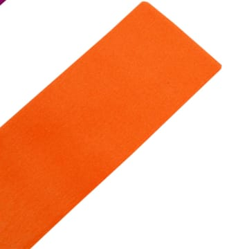 Kreppapir, 50x250cm, 10 legg, orange