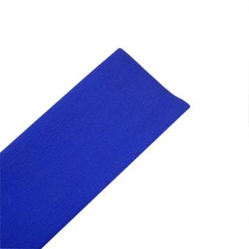 Kreppapir, 50x250cm, 10 legg, blå
