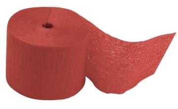 Kreppapir ruller, B:5cm, L:20 m, 20 rl, rød