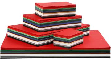 Julekartong, 180g, 1800 ark ass.farger (UTSOLGT)