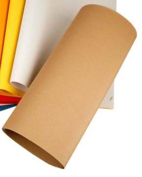 Bølgepapp, ark 50x70cm, vekt 120 g, 10 ark