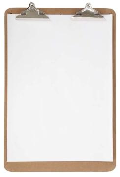 Clipboard til staffeli, 46x68cm, 5mm, 1stk.