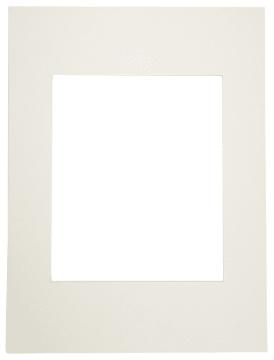 Passepartoutramme, 30x40cm, hull:20x24cm, 5stk, off-white
