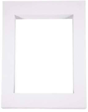 Passepartoutrammer, A-3, 100stk, hvit