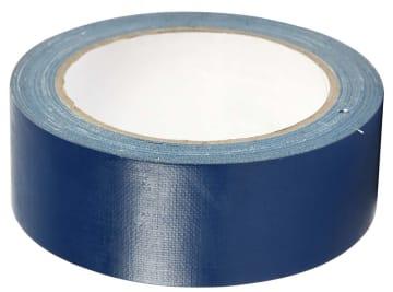 Lerretstape, 38mm x 25 m, blå