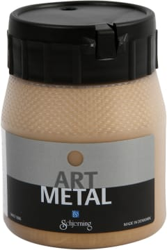 Art Metall maling, 250 ml, mellomgull