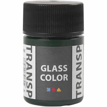 Glass Color Transparent, 35 ml, brilliant grønn