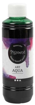 Art Aqua Pigment, 250 ml, grønn