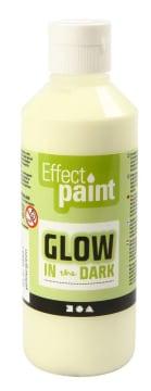 Selvlysende maling, 250 ml, grønn/gul