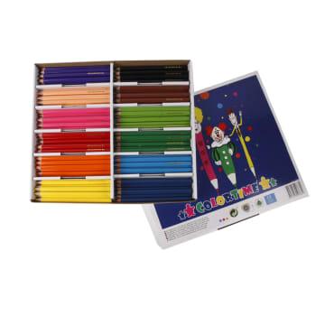 Colortime fargebl, mine:5mm, 144 ass, ass. Farger