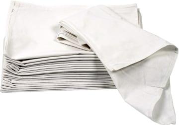 Kjøkkenhåndkle, 50x70cm, 70 g, 5 stk, hvit