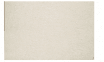 Fleece, 1,25 x 1,5 m. råhvit.