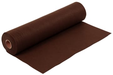 Hobbyfilt, B:45cm, 1,5mm, 5 m, brun