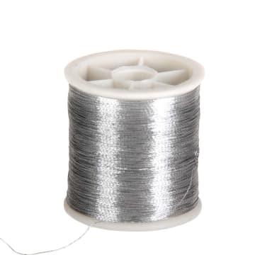 Sytråd, 100 m, sølv