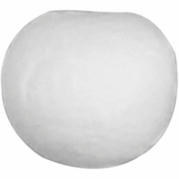 Vattkuler, D:12mm, 300stk, hvit