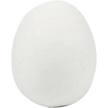 Egg, 18x25mm, 300stk, hvit