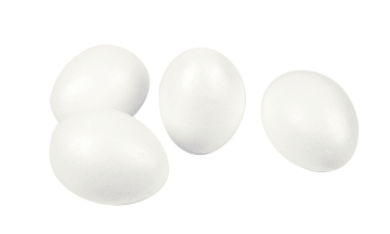 Egg, H:10cm, 25stk.