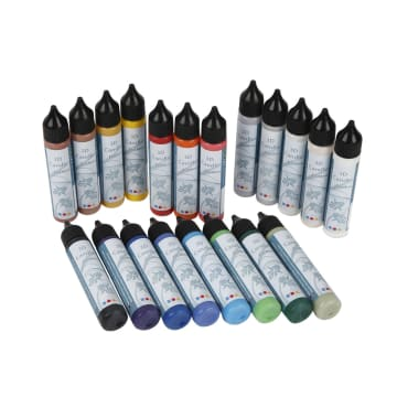 Lysvoks, 20x25 ml, ass. farger