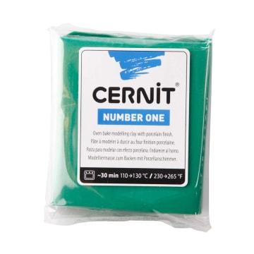 Cernit, 56 g, grønn
