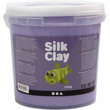 Silk Clay, 650 g, lilla