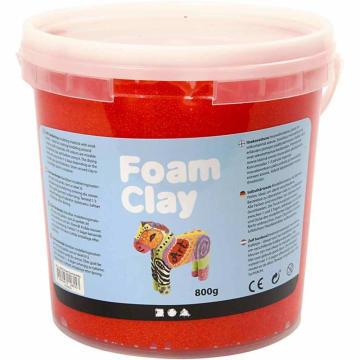 Foam Clay, 560 g, rød