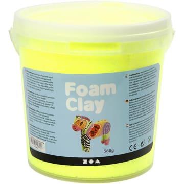 Foam Clay, 560 g, gul neon