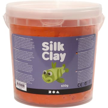Silk Clay, 650 g, orange