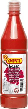 Basic poster maling, 500 ml., rød