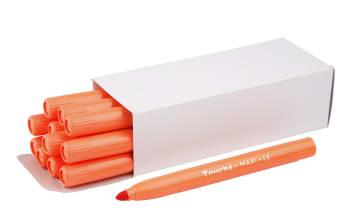 Maxitusj, oransje, 12 stk