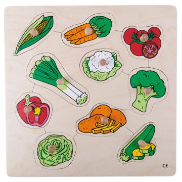 Knoppuslespill, grønnsaker