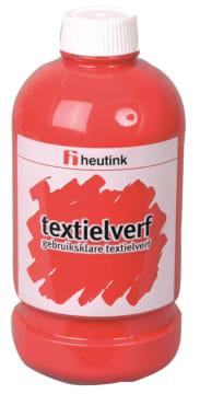 Tekstilmaling, 500ml. rød