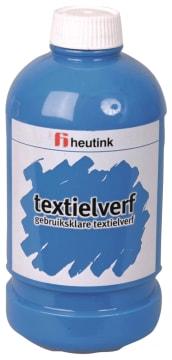 Tekstilmaling, 500ml. blå
