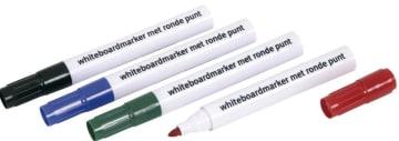 Whiteboard tusj sort (12/pk)