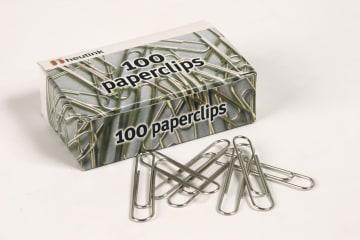 Binders i eske (100 stk binders) 30mm