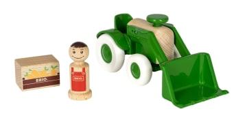 BRIO Traktor med grabb