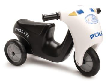 Politimotorsykkel m/gummihjul