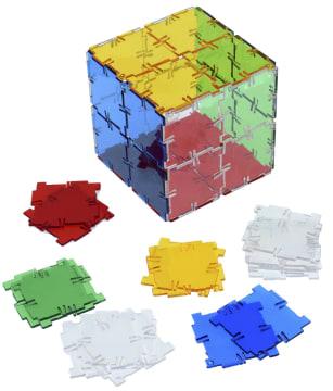Crystal Polydron kvadrater, 40 deler