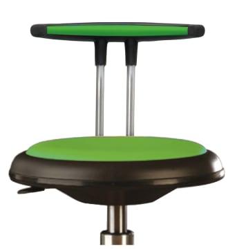Ryggstøtte til påkledningsstol Grønn