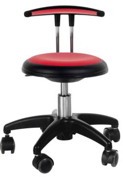 Ryggstøtte til påkledningsstol Rød