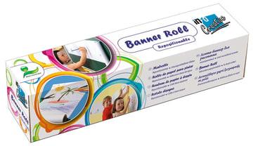 Banner roll. selvklebende tegnepapir, 30 cm.x 12 m.