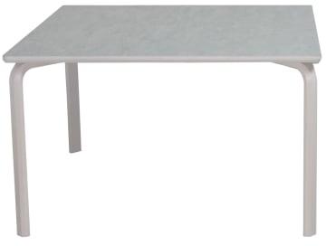 Bord 120x120cm med marmoleum