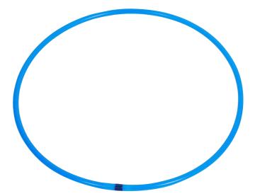 Rockering 65 cm  blå