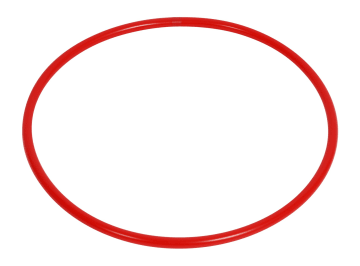 Rockering 50 cm  rød